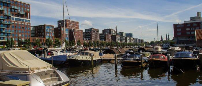 Boot huren Amsterdam haven