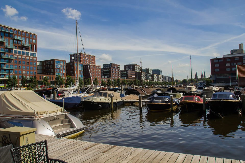 haven westerdok locatie boot verhuurbedrijf canal motorboats