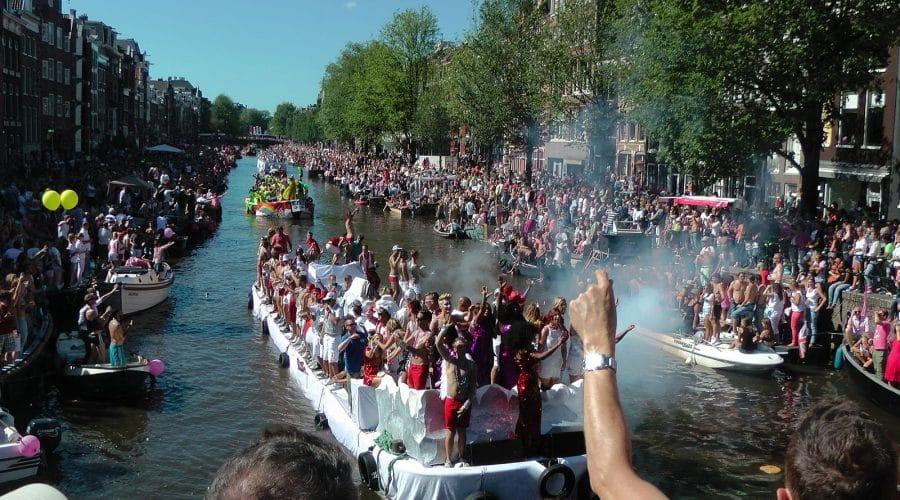 Gay parade Amsterdam