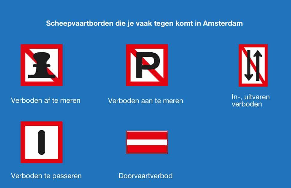 Vaarregels Amsterdam grachten