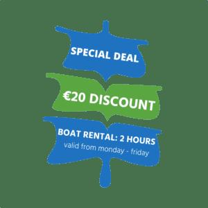 Boat rental Amsterdam discount