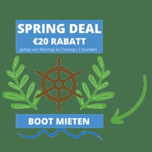 Günstige bootsverleih amsterdam