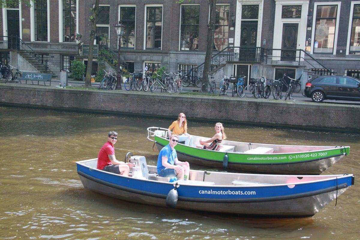 rent a boat amsterdam cheap