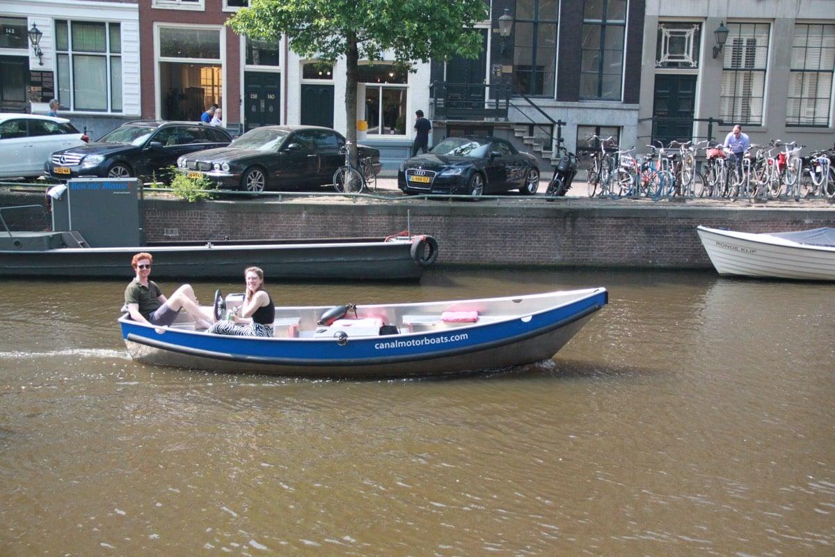amsterdam boot zelf varen