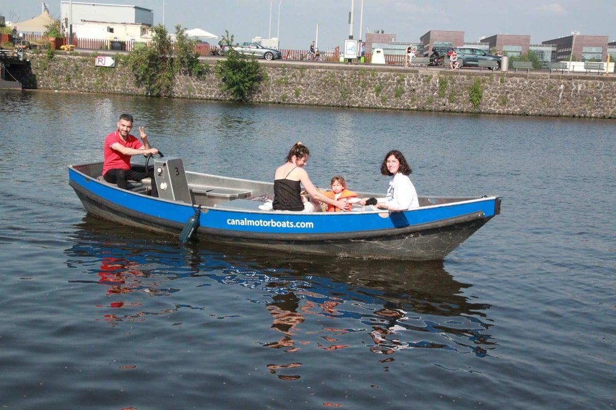 in amsterdam boot huren zelf varen